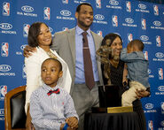 Lebron-james family