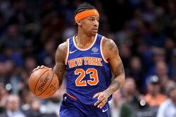 Trey Burke New York Knicks v Denver Nuggets RJ3Yuis6 WCl