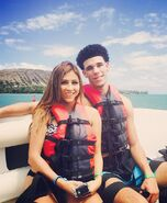 Lonzo and denise