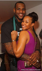 Lebron-James-and-Girlfriend-Savannah-Brinson