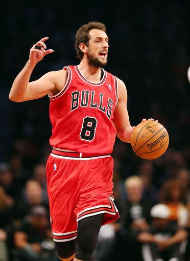 Marco Belinelli Chicago Bulls v Brooklyn Nets 6vDhhSqqJiGx
