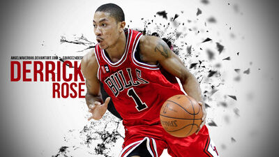 Derrick rose wallpaper by angelmaker666-d3cfebj