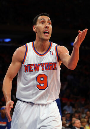 Pablo Prigioni Indiana Pacers v New York Knicks WChsfLye5rDx