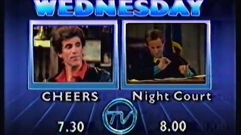 Cheers Night Court promo (TVQ-10, 1987)
