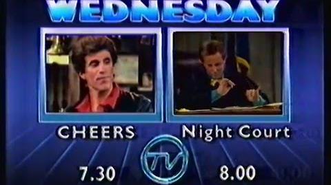 Cheers Night Court promo (TVQ-10, 1987)