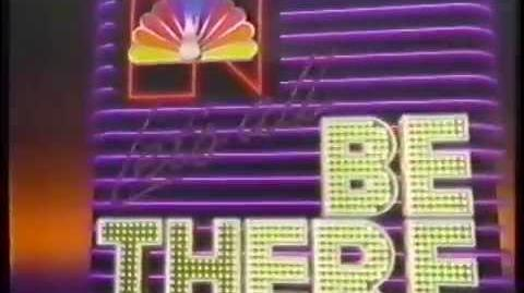 1985 NBC Let's All Be There Promo