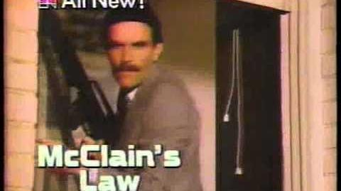 NBC McLain's Law & Cassie & Co. 1982 Promo