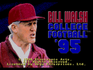Bill Walsh College Football '95 0