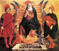 Andrea-del-castagno-our-lady-of-the-assumption-with-sts-miniato-and-julian