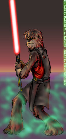 File:Sith Wookie Darth Lumpawarump by scruffy zero.jpg