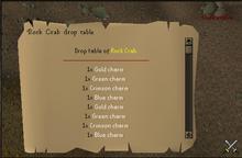 Rock Crab Drop Table