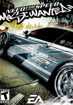 NFS Most wanted Cover