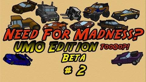 Let's Play Need For Madness 2 UMO Edition 2 BETA - PART 2 NOOOOOOO By Ultimato
