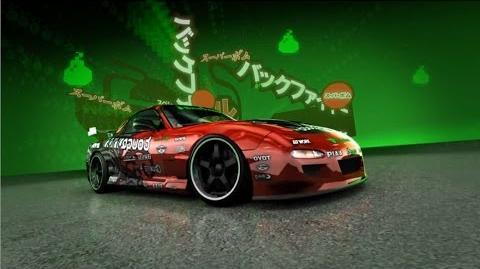 Need for Speed ProStreet - организация Нойз Бомб - Аки Кимура