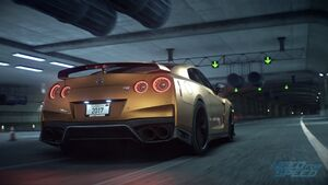 Nissan GT-R Premium 2017 - Need for Speed 2015 (image promotionnelle)