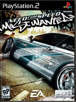 Need for speed most wanted - Boxart ps2