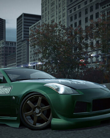 need for speed underground 2 350z