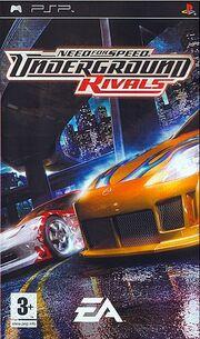 NFS Underground Rivals - Cover