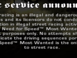 Демо - Версия Need For Speed: Most Wanted