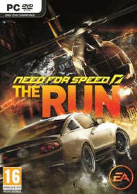 Need for Speed The Run cover