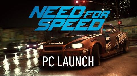 Need For Speed PC Launch