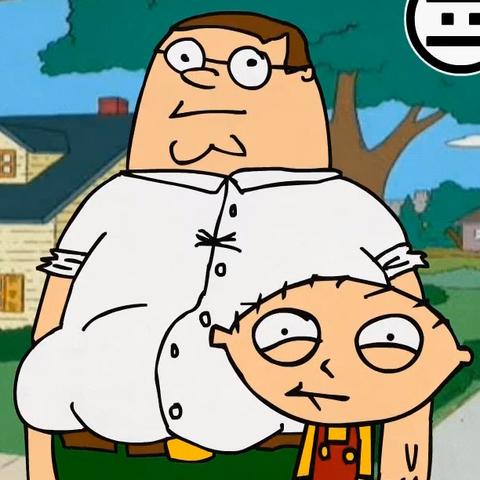 con su hijo <a href=