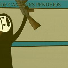 Pinchimono con sus armas.