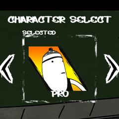 En la selección de personajes del <a href=