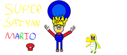 Super Saiyan Mario