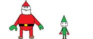 Santa and Elf DERP