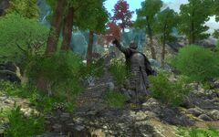 Malphas' Statue in Enderal