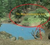 Duras' Quest - Boar's Location