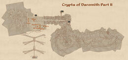 Crypta of Daromith part 2 map
