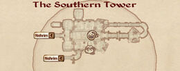The Southern Tower map