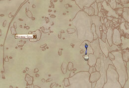 Flowstone cave ext map