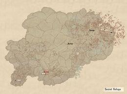 Secret Refugie map