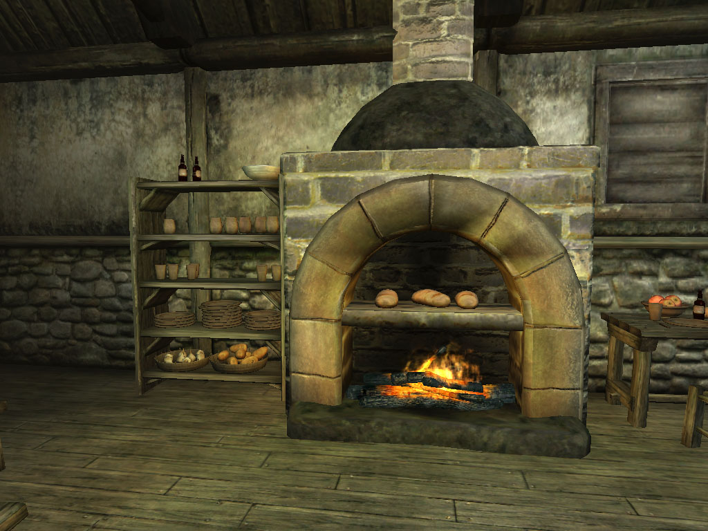 image kitchen fireplace jpg nehrim wiki fandom powered by wikia