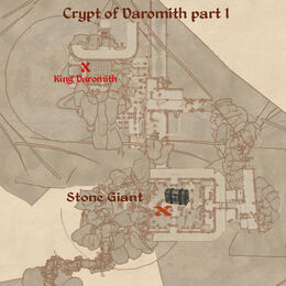 Crypt of Daromith part 1 map