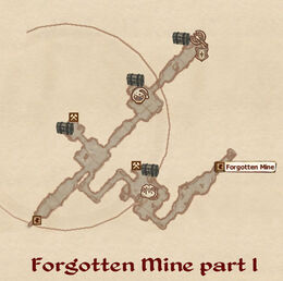 Forgotten Mine map01