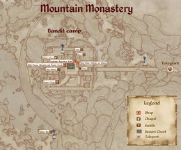 MMonastery map