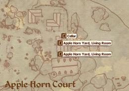 Apple Horn Court Map