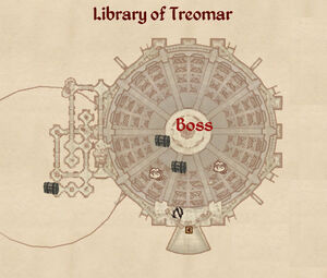 Library Of Treomar map