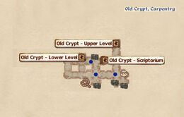 Old Crypt Carperntry map