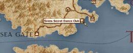 Svens Secret Dance Club location