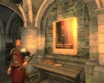 Watchpost at the Erod Bridge inside