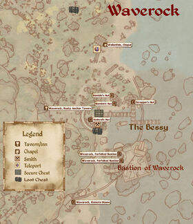 Waverock map