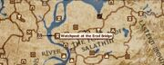 Watchpost of the Erod Bridge locatiom