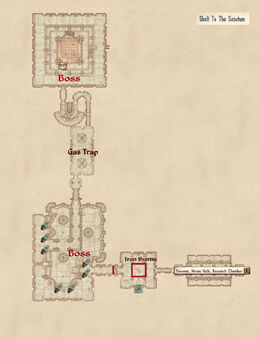 Shaft To The Sanctum map