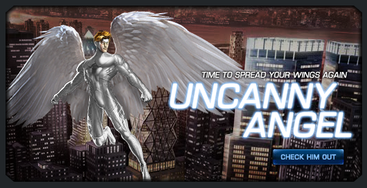 Uncanny angel