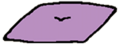 Pillow purple
